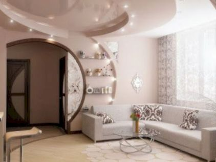 Astonishing partition design ideas for living room 44