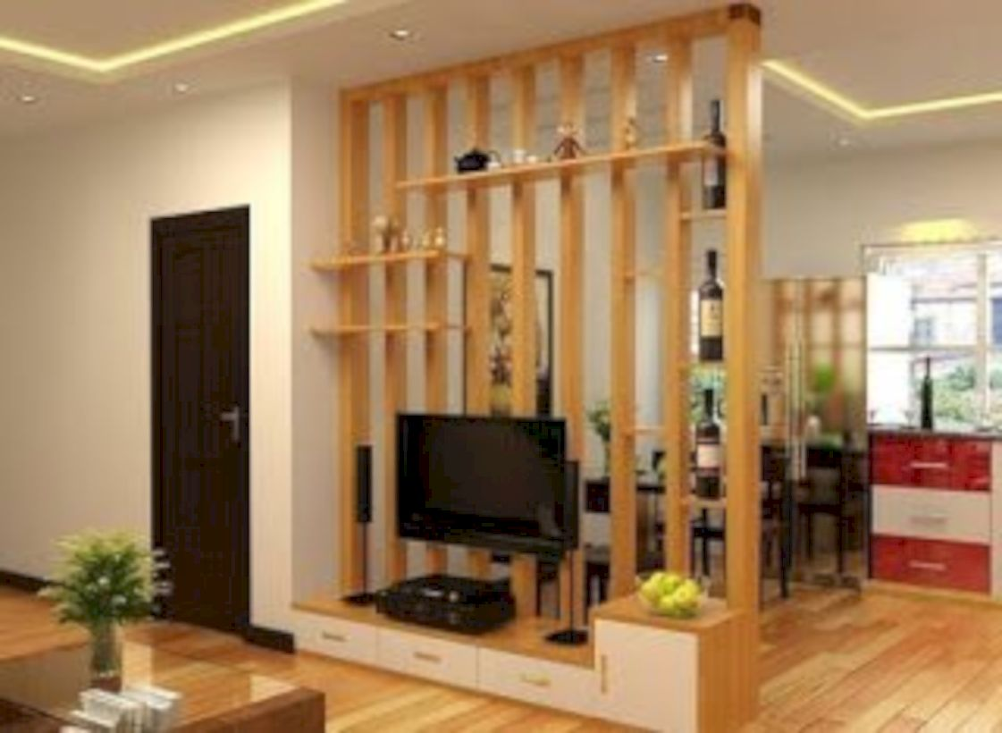 52 Astonishing Partition Design Ideas For Living Room ...