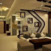 Astonishing partition design ideas for living room 47
