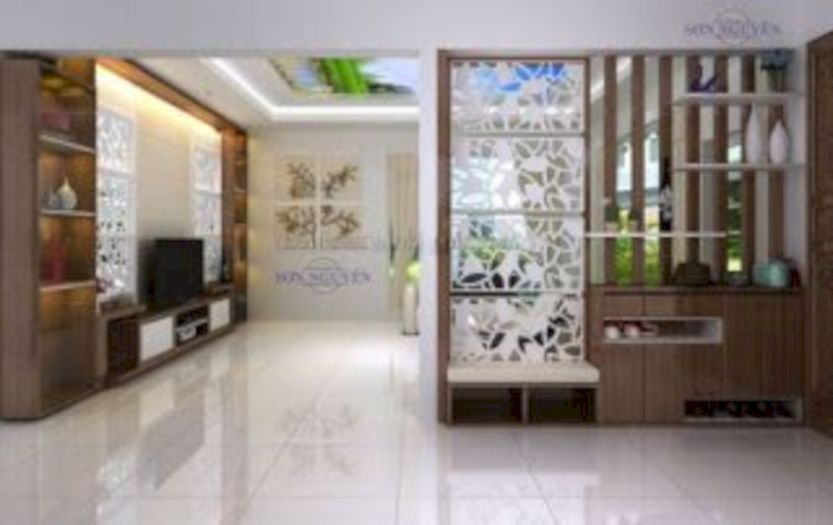 Astonishing partition design ideas for living room 49