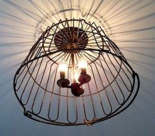 Best ideas to reuse old wire baskets 15