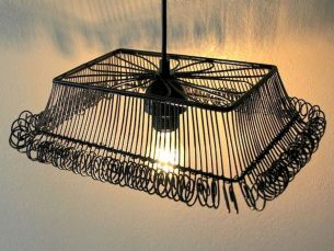 Best ideas to reuse old wire baskets 16