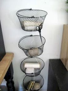 Best ideas to reuse old wire baskets 20