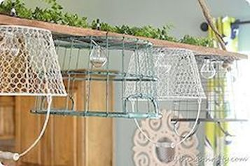 Best ideas to reuse old wire baskets 22