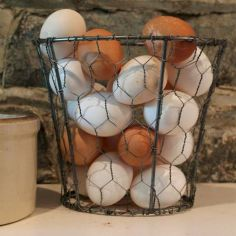 Best ideas to reuse old wire baskets 26