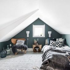 Charming bedroom design ideas in the attic 02