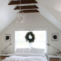 Charming bedroom design ideas in the attic 06