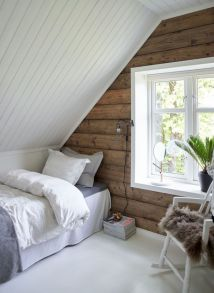 Charming bedroom design ideas in the attic 13