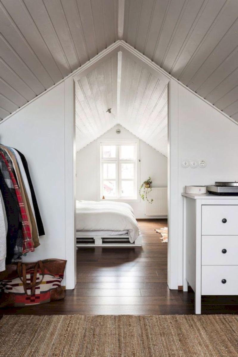 Charming bedroom design ideas in the attic 15