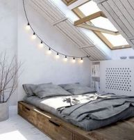Charming bedroom design ideas in the attic 16