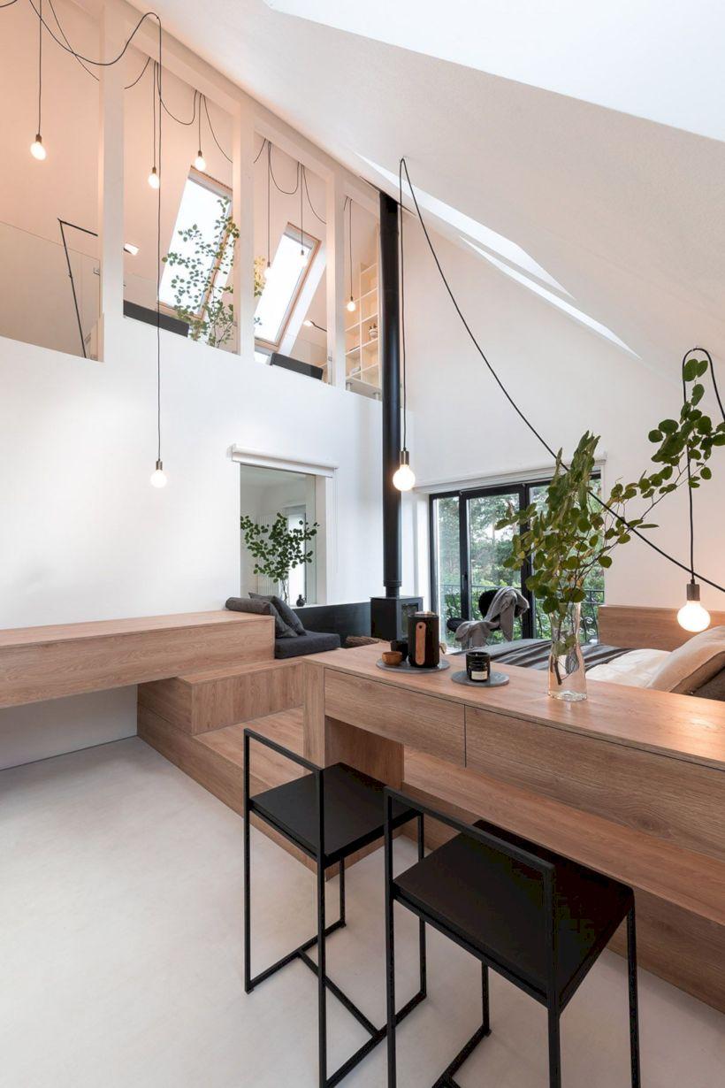 Charming bedroom design ideas in the attic 23