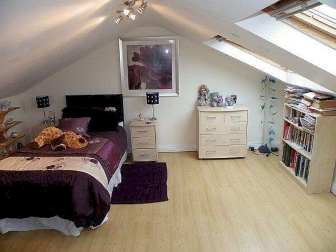 Charming bedroom design ideas in the attic 28