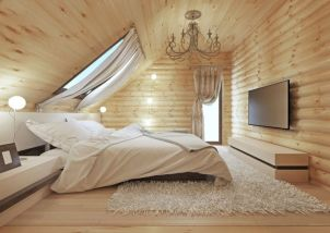 Charming bedroom design ideas in the attic 29