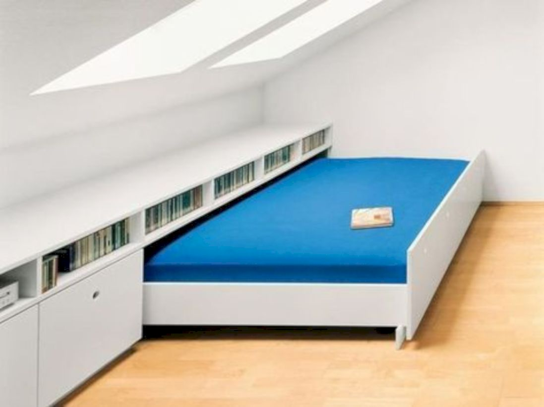 Charming bedroom design ideas in the attic 45