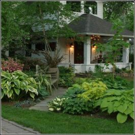 Charming flower beds ideas for shady yards 12