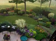 Charming flower beds ideas for shady yards 44