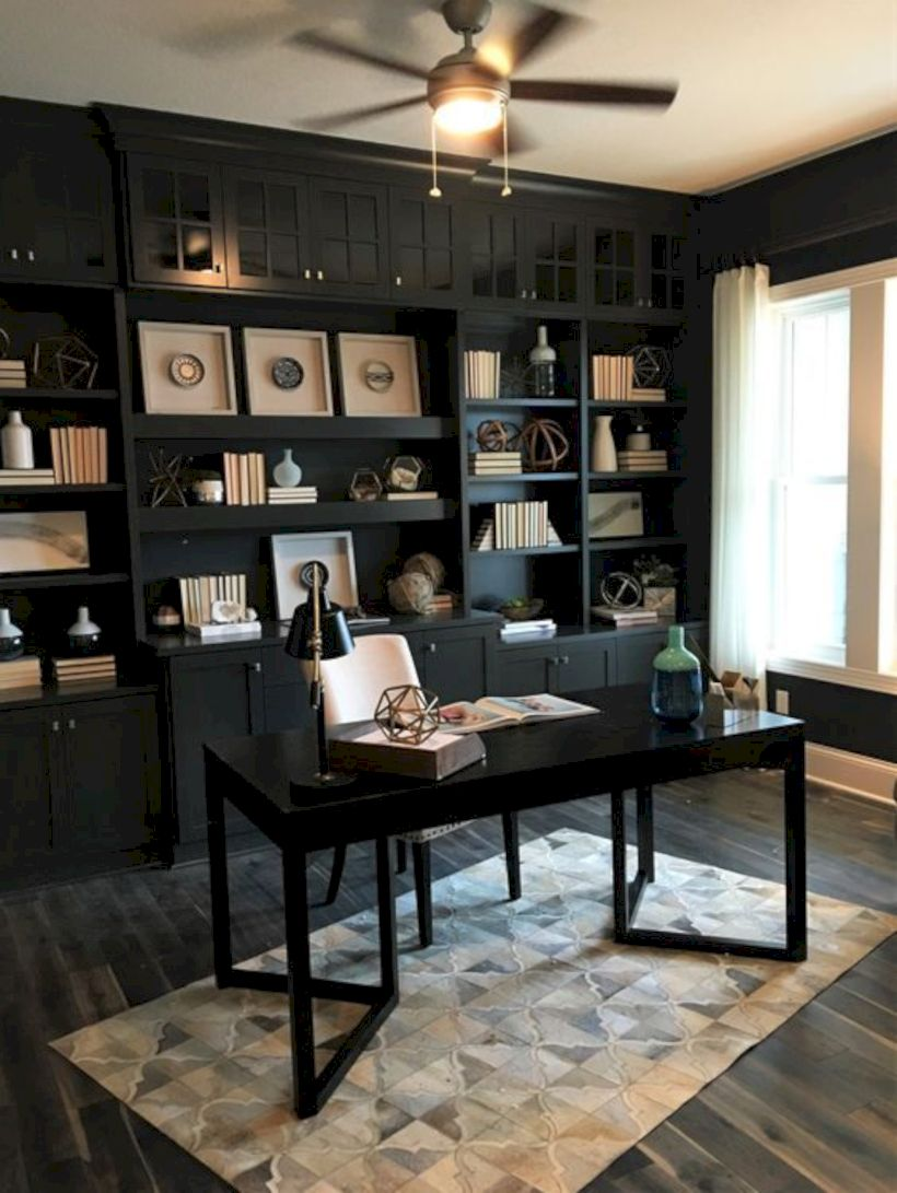 Classy home office designs ideas 04