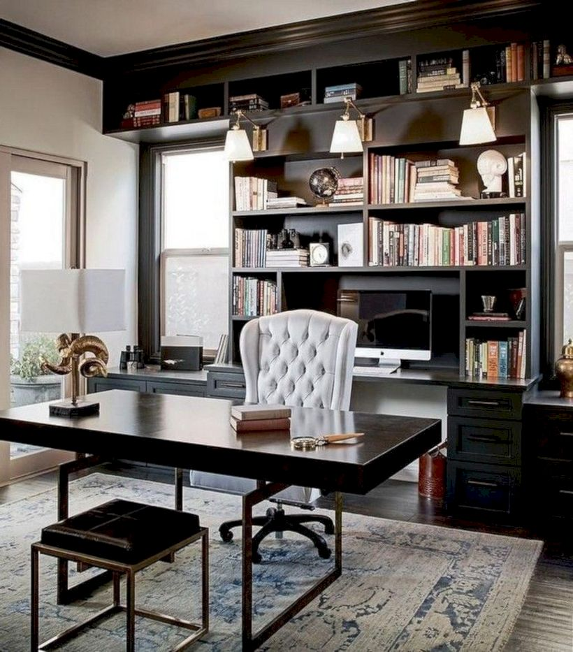 Classy home office designs ideas 10
