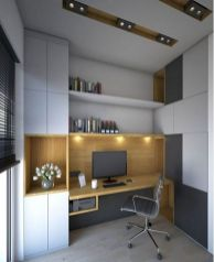 Classy home office designs ideas 14