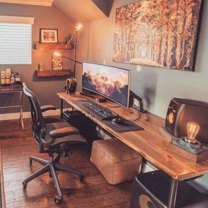 Classy home office designs ideas 22