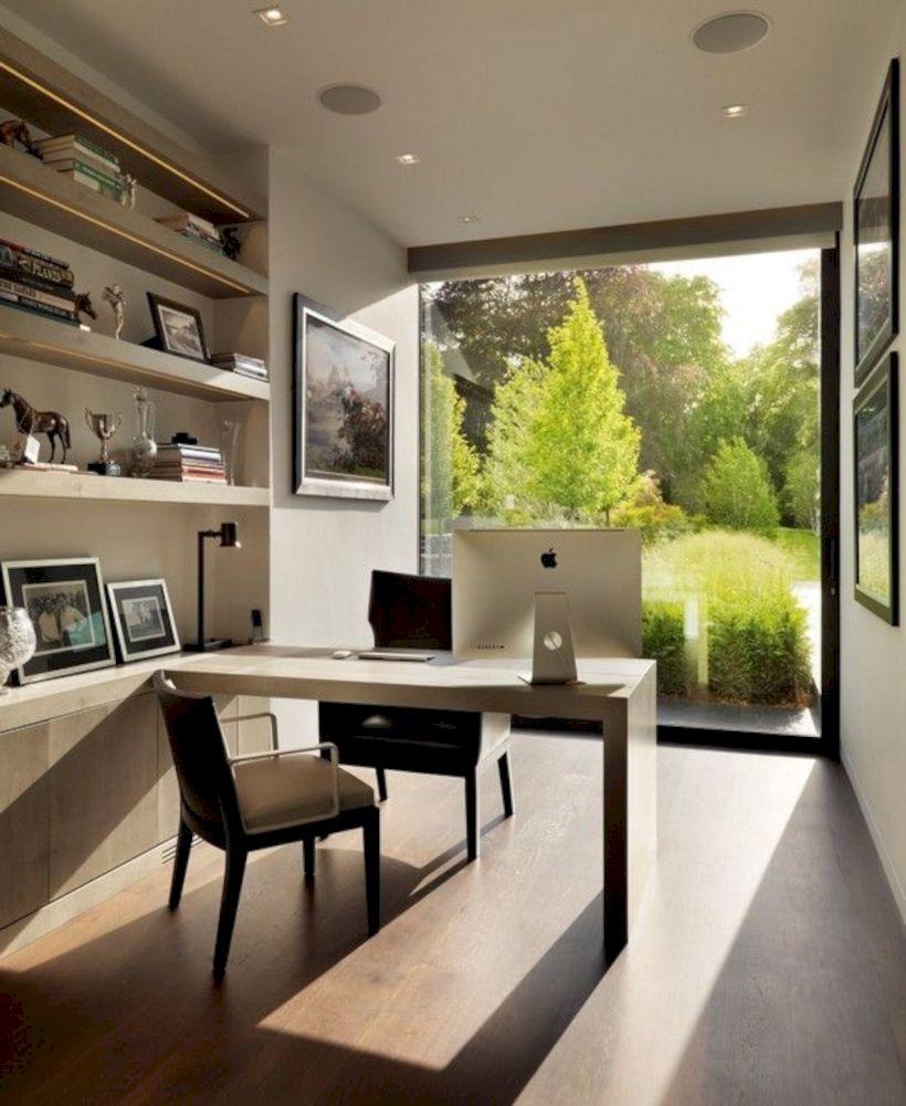 Classy home office designs ideas 41