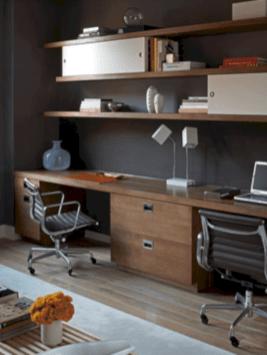 Classy home office designs ideas 43