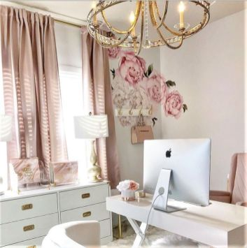 Classy home office designs ideas 44