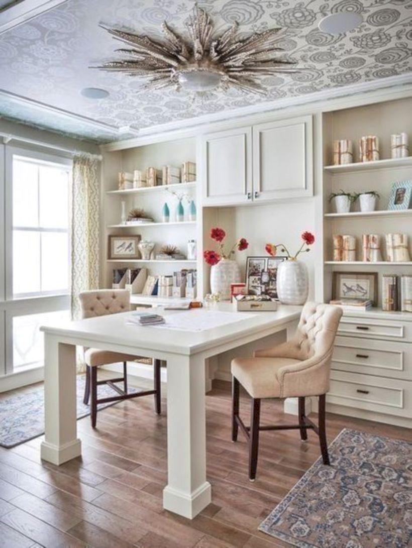 Classy home office designs ideas 45