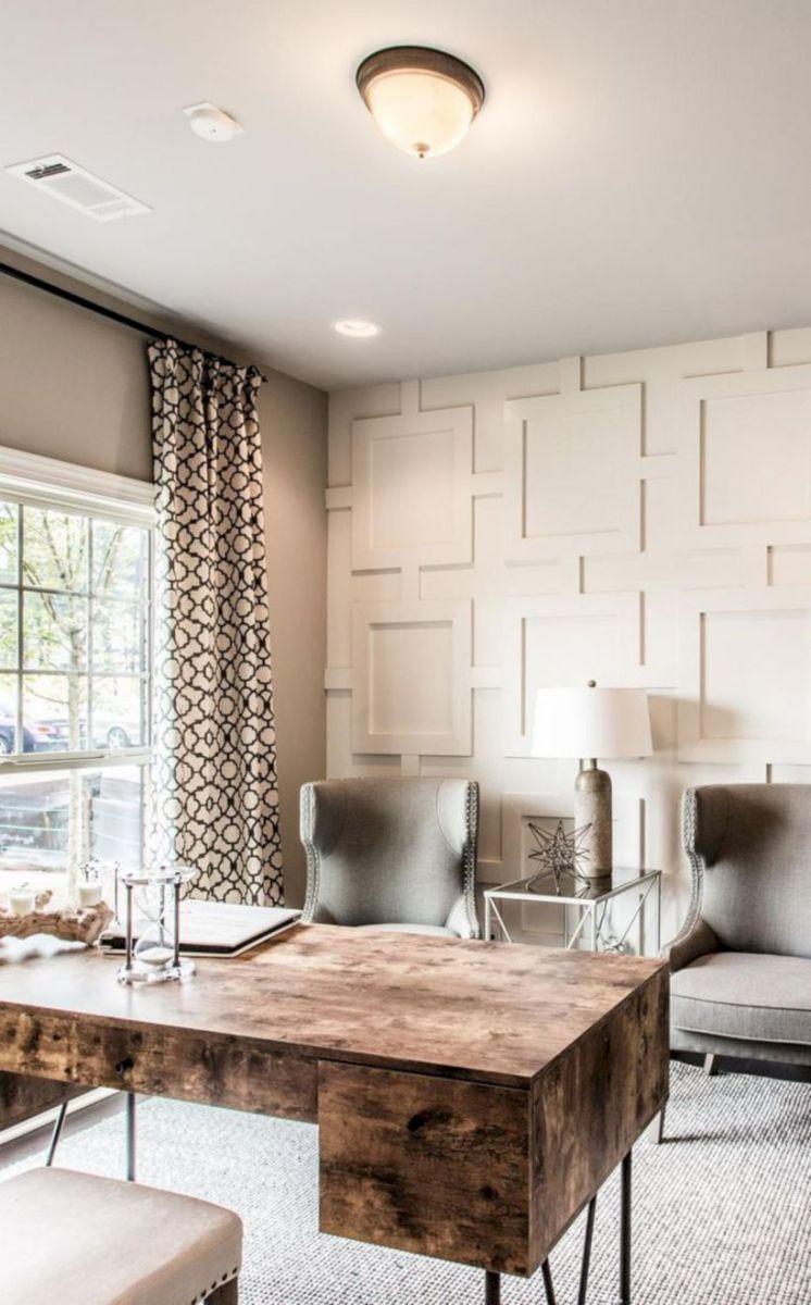 Classy home office designs ideas 47