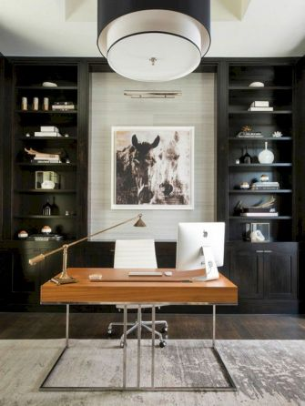 Classy home office designs ideas 52