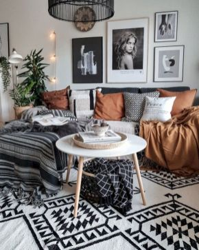Cool living room designs ideas in boho style20