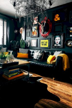 Cool living room designs ideas in boho style23