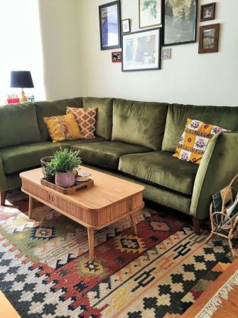 Cool living room designs ideas in boho style24