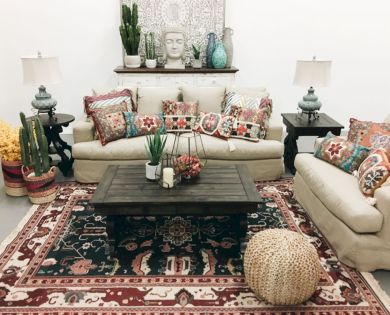 Cool living room designs ideas in boho style50