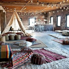 Cool living room designs ideas in boho style52