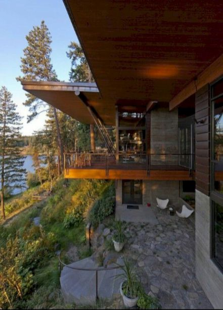 Delightful balcony designs ideas with killer views 04