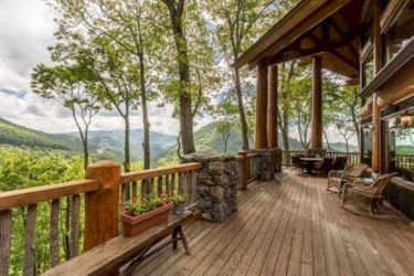 Delightful balcony designs ideas with killer views 43