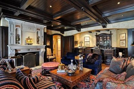 Fabulous statement ceiling ideas for home 07