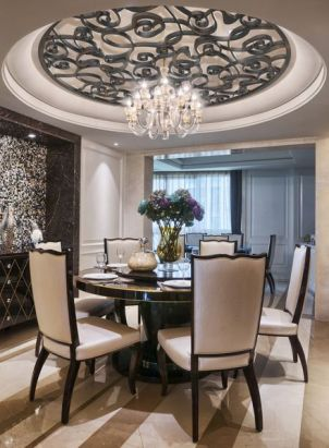Fabulous statement ceiling ideas for home 14