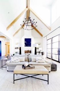 Fabulous statement ceiling ideas for home 44
