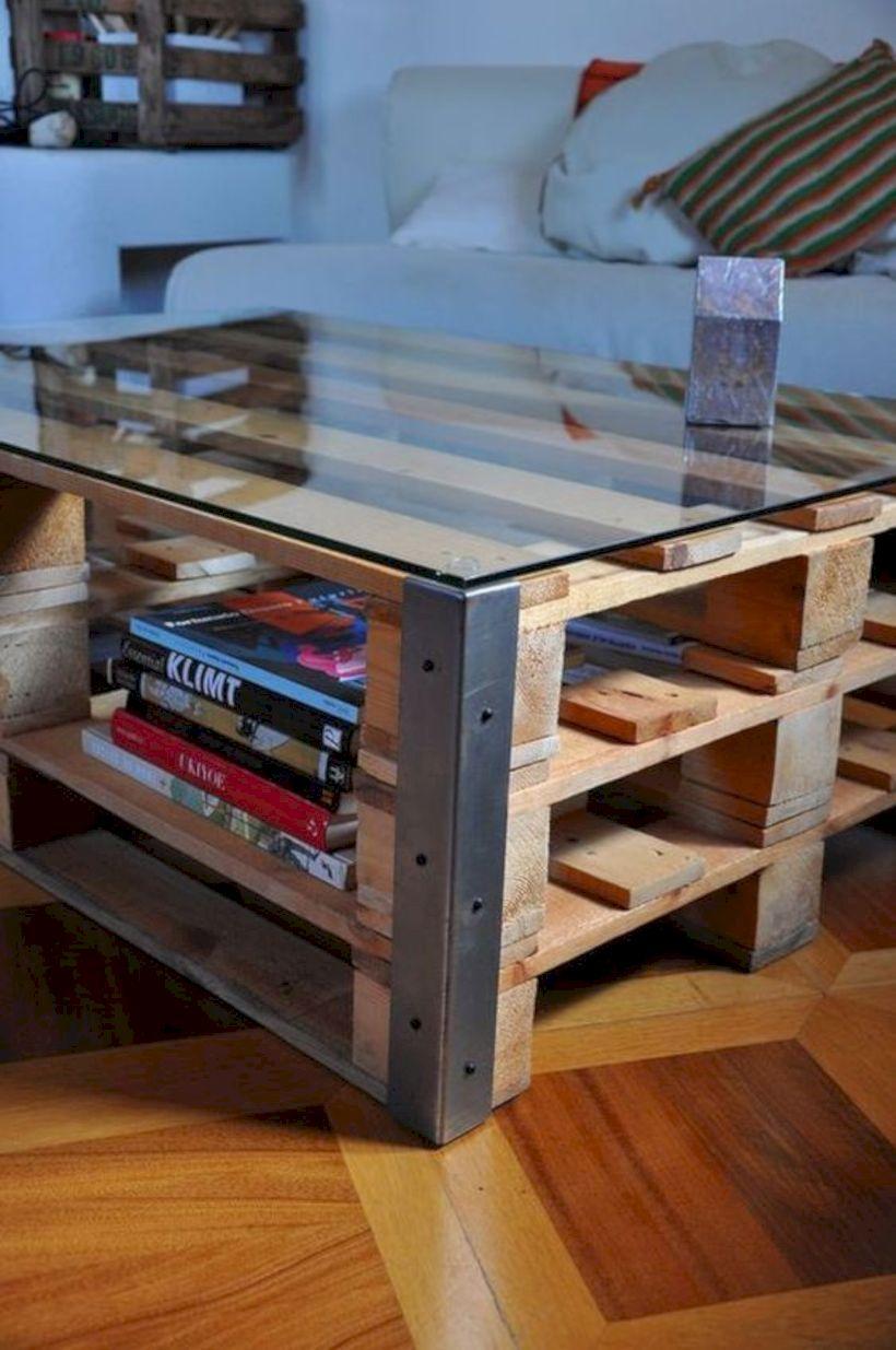 Graceful pallet furniture ideas 25