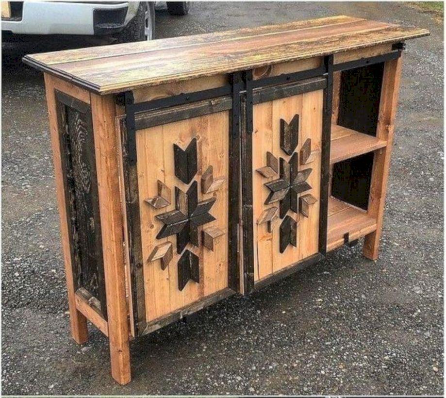 Graceful pallet furniture ideas 27