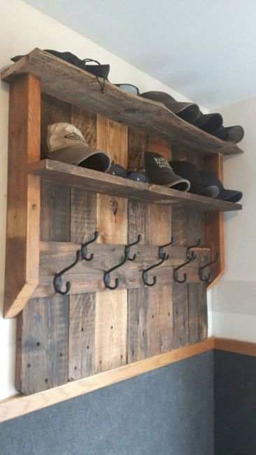 Graceful pallet furniture ideas 44