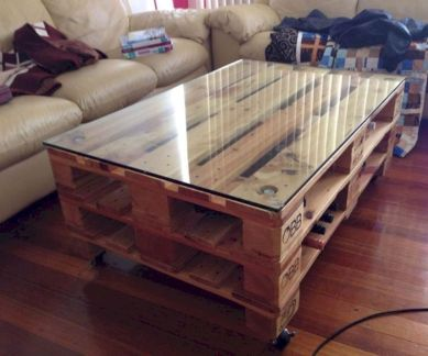 Graceful pallet furniture ideas 50