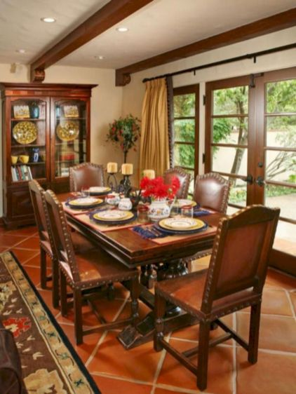 Lovely dining room tiles design ideas 03