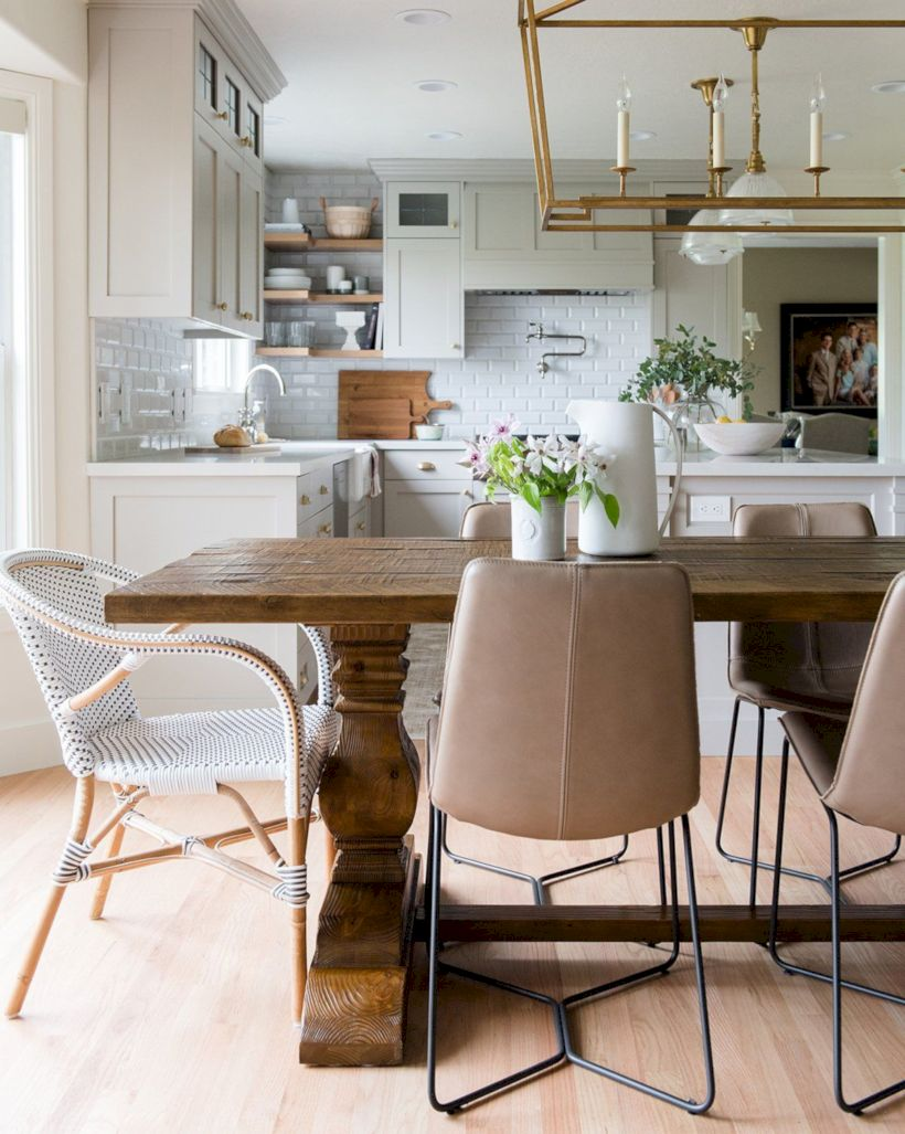 Lovely dining room tiles design ideas 25