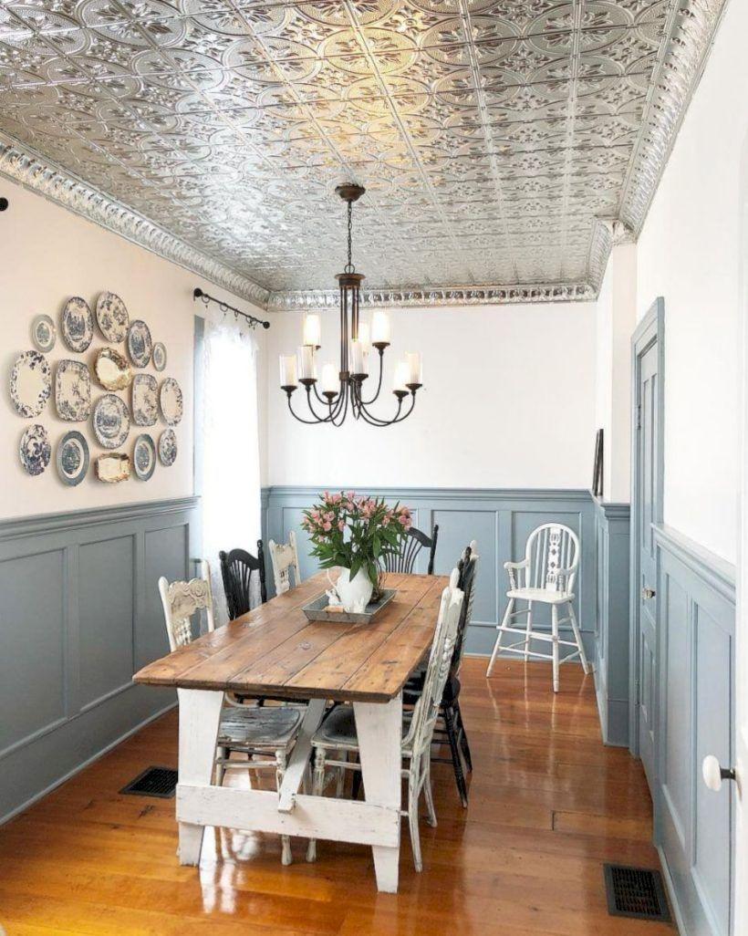 Lovely dining room tiles design ideas 29