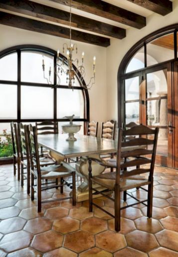 Lovely dining room tiles design ideas 31