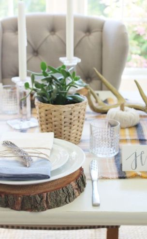 Modern diy thanksgiving decorations ideas for home 16