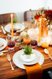 Modern diy thanksgiving decorations ideas for home 25